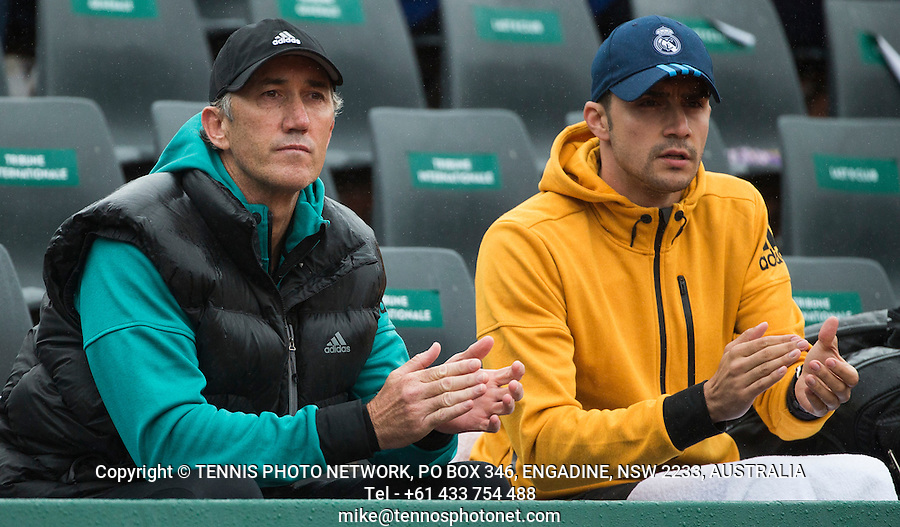 DARREN CAHILL, COACH OF SIMONA HALEP (ROU)<br /> <br /> TENNIS - FRENCH OPEN - ROLAND GARROS - ATP - WTA - ITF - GRAND SLAM - CHAMPIONSHIPS - PARIS - FRANCE - 2016  <br /> <br /> <br /> <br /> &copy; TENNIS PHOTO NETWORK