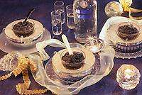 Gastronomie Générale/ Repas de réveillon: Caviar et Vodka