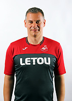 Pictured: U23 goalkeeping coach<br />