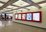 Architectural Graphics at Cummins World Headquarters | Designers: Spagnola & Associates