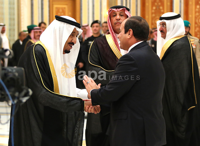 Egypt's President Abdel Fattah al-Sisi attends the Summit of South American-Arab Countries in Riyadh on November 10, 2015, as Arab leaders and top officials from South America converged on Saudi Arabia for a summit aiming to strengthen ties between the geographically distant but economically powerful regions.. Photo by Egyptian President Office