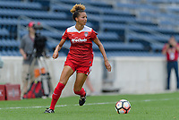 Bridgeview, IL - Saturday June 17, 2017: Estelle Johnson during a regular season National Women's Soccer League (NWSL) match between the Chicago Red Stars and the Washington Spirit at Toyota Park. The match ended in a 1-1 tie.