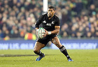 19th November 2016 | IRELAND vs NEW ZEALAND<br /> <br /> Waisake Naholo, during the Autumn Series International clash between Ireland and New Zealand at the Aviva Stadium, Lansdowne Road, Dublin,  Ireland. Photo by John Dickson/DICKSONDIGITAL