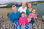 Portmagee will be a hive of activity this weekend as the village's first ever 'Portmagee Dive and JIve Geopark weekend' kicks off the. The two day festival is to celebrate the natural amenties and beauty of Kerry and to raise awareness of Kerry Geopark. .Back L-R Elizabeth Lynch, Eileen Whelan and Deirdre Moran .Front L-R Ri?ona and Niamh Moran