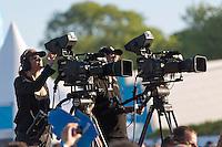 26-05-2012 / Medemblik (NED) / Delta Lloyd Regatta / Day 5 / Medal races / Ilse de Lange concert