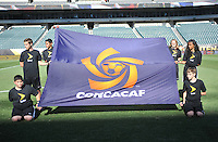 Philadelphia, PA - Tuesday June 14, 2016: CONCACAF flag prior to a Copa America Centenario Group D match between Chile (CHI) and Panama (PAN) at Lincoln Financial Field.