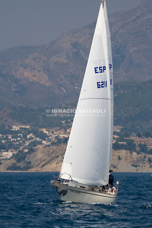 ESP6211 RESBALON JOSE ANDRES.LEON BELLIURE .XX Trofeo Peñón de Ifach, Calpe-Formentera-Calpe - 5,6 y 7 de Junio de 2008 - Real Club Náutico de Calpe, Calpe, Alicante, Spain - Cruceros