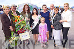 Winners at the Best Dressed Competition Peg, Looney, John Cronin, Jessica Mai Carroll (Best Dressed Lady) Emma Foley, Lorraine Murphy, Emma O'Connor, Monica Bolger, Michael O'Shea and Judge Clodagh Irwin O'Shea pictured at Glenbeigh Races at Rossbeigh Beach on Sunday.