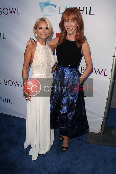 Kristin Chenoweth, Kathy Griffin<br /> at the Hollywood Bowl Opening Night and Hall Of Fame Ceremony, Hollywood Bowl, Hollywood, CA 06-21-14<br /> David Edwards/DailyCeleb.com 818-249-4998