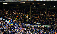 Leeds United fans watch on during the second half<br /> <br /> Photographer Alex Dodd/CameraSport<br /> <br /> The EFL Sky Bet Championship - Leeds United v Norwich City - Saturday 2nd February 2019 - Elland Road - Leeds<br /> <br /> World Copyright © 2019 CameraSport. All rights reserved. 43 Linden Ave. Countesthorpe. Leicester. England. LE8 5PG - Tel: +44 (0) 116 277 4147 - admin@camerasport.com - www.camerasport.com