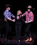 Kristin Chenoweth with Will Taylor & Tyler Hanes.performing in Kristin Chenoweth World Tour directed by Richard Jay Alexander at City Center in New York City on 6/02/2012
