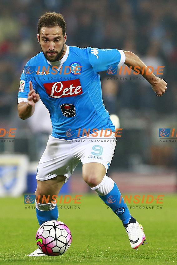 Gonzalo Higuain Napoli, <br /> Napoli 14-05-2016 Stadio San Paolo<br /> Football Calcio Serie A 2015/2016 Napoli - Frosinone<br /> Foto Cesare Purini / Insidefoto