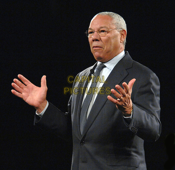 GENERAL COLIN POWELL.Retired General Colin Powell makes an appearance at the RBC Center as part of the Get Motivated Seminar, aleigh, North Carolina, USA,.11 October 2007..half length .CAP/ADM/MO.©Moose/AdMedia/Capital Pictures.