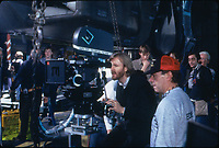 Aliens (1986)<br /> Behind the scenes photo of James Cameron<br /> <br /> *Filmstill - Editorial Use Only*<br /> CAP/KFS<br /> Image supplied by Capital Pictures