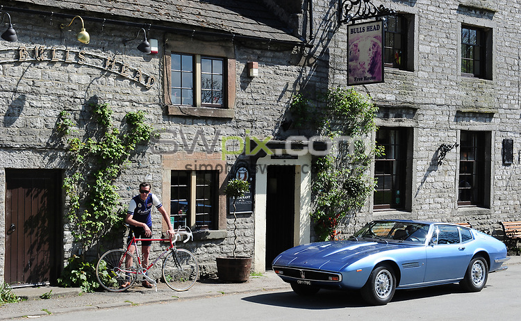 Picture by Simon Wilkinson/SWpix.com - 10/05/2017 - Cycling - Maserati Eroica Britannia Ride with David Millar.