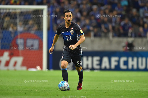 Maya Yoshida (JPN),<br /> SEPTEMBER 1, 2016 - Football / Soccer :<br /> FIFA World Cup Russia 2018 Asian Qualifiers Final Round Group B match between Japan 1-2 United Arab Emirates at Saitama Stadium 2002 in Saitama, Japan. (Photo by AFLO)