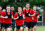 Chris Basham of Sheffield Utd during the training session at the Shirecliffe Training complex, Sheffield. Picture date: June 27th 2017. Pic credit should read: Simon Bellis/Sportimage