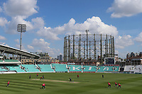General view of play during Surrey vs Essex Eagles, Royal London One-Day Cup Cricket at the Kia Oval on 2nd May 2017