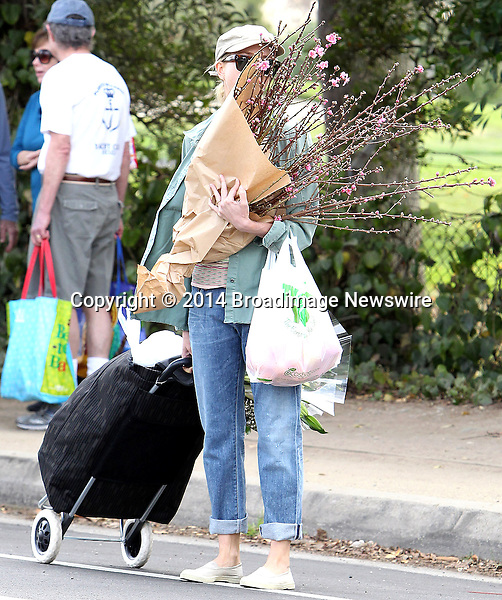 Pictured: Naomi Watts<br /> Mandatory Credit &copy; ACLA/Broadimage<br /> Naomi Watts goes to the Farmers Market in Brentwood<br /> <br /> 1/19/14, Brentwood, California, United States of America<br /> <br /> Broadimage Newswire<br /> Los Angeles 1+  (310) 301-1027<br /> New York      1+  (646) 827-9134<br /> sales@broadimage.com<br /> http://www.broadimage.com
