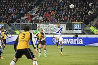 VOETBAL: SC HEERENVEEN: Abe Lenstra Stadion, 17-02-2012, SC-Heerenveen-NAC, Eredivisie, Eindstand 1-0, doelpoging Rajiv van La Parra, ©foto: Martin de Jong.