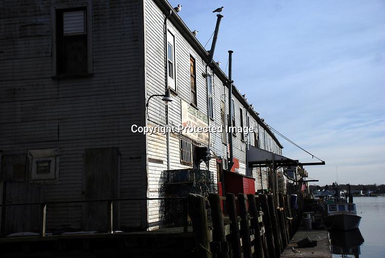 Custom House Wharf, Portland, ME