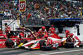 2017 Verizon IndyCar Series - Firestone Grand Prix of St. Petersburg<br /> St. Petersburg, FL USA<br /> Sunday 12 March 2017<br /> Marco Andretti pit stop<br /> World Copyright:Sam Cobb/LAT Images<br /> ref: Digital Image cobb-stpete-170312-4447