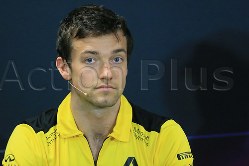 25.05.2016. Monaco, Monte Carlo. Formula 1 Grand Prix, drivers arrival and press conference day.  Renault Sport F1 Team – Jolyon Palmer.