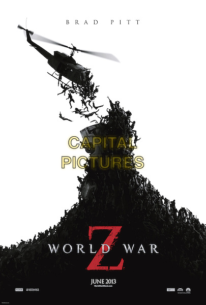 POSTER ART<br /> in World War Z (2013) <br /> *Filmstill - Editorial Use Only*<br /> CAP/FB<br /> Supplied by Capital Pictures
