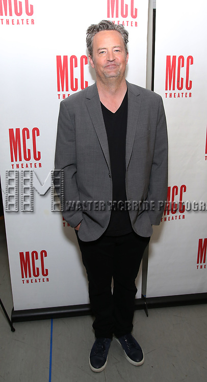 Matthew Perry attends 'The End Of Longing' cast photocall at Roundabout Rehearsal Studio on April 20, 2017 in New York City.