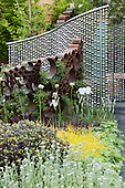 London, UK, 18 May 2013. Show Garden. Press preview day at the RHS Chelsea Flower Show, London.