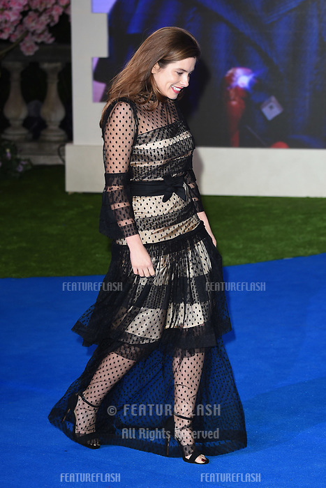 "LONDON, UK. December 12, 2018: Rachel Shenton at the UK premiere of ""Mary Poppins Returns"" at the Royal Albert Hall, London.<br /> Picture: Steve Vas/Featureflash"