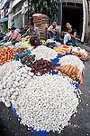 Asia, Myanmar, Yangon, venders in Yangon open market