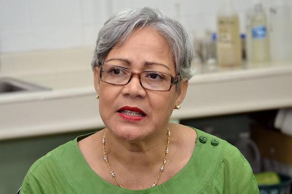 Gladys Rosado.Directora del Centro de Investigación de Biología Marina (Cibima) de la Universidad Autónoma de Santo Domingo (UASD).Fotos: Carmen Suárez/acento.com.do.Fecha: 15/08/2011.
