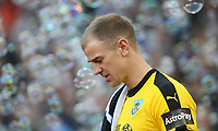 Burnley's Joe Hart<br /> <br /> Photographer Rob Newell/CameraSport<br /> <br /> The Premier League - West Ham United v Burnley - Saturday 3rd November 2018 - London Stadium - London<br /> <br /> World Copyright &copy; 2018 CameraSport. All rights reserved. 43 Linden Ave. Countesthorpe. Leicester. England. LE8 5PG - Tel: +44 (0) 116 277 4147 - admin@camerasport.com - www.camerasport.com
