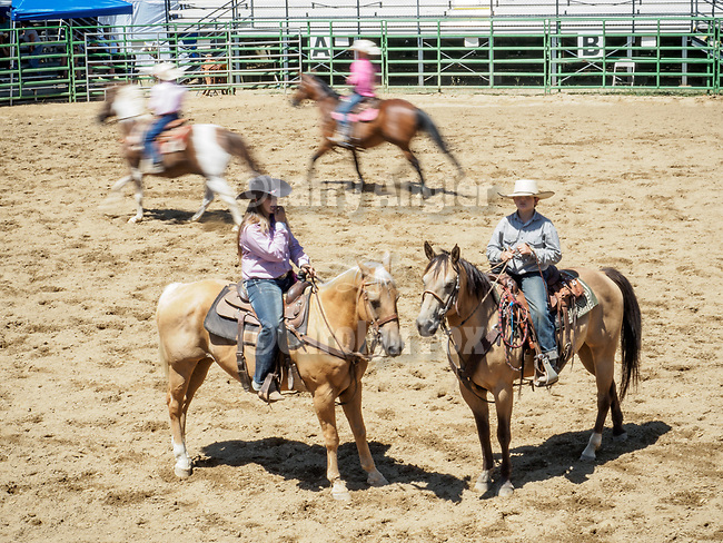 Saturday, Day 3 of the 79th Amador County Fair, Plymouth, Calif.<br /> <br /> Local cattlemen's ranch rodeo.<br /> <br /> <br /> #AmadorCountyFair, #PlymouthCalifornia,<br /> #TourAmador, #VisitAmador