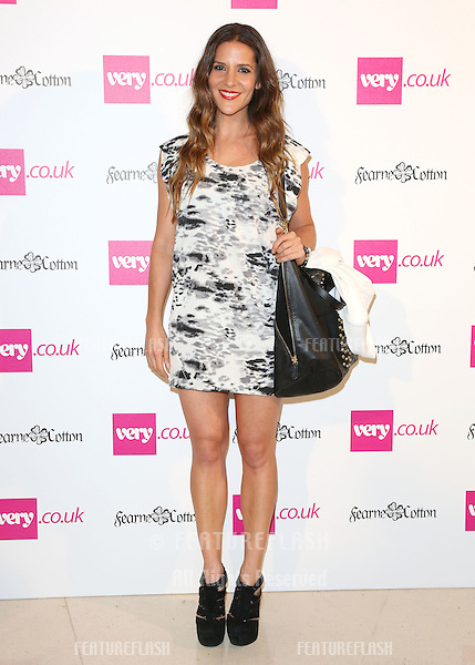 Amanda Byram arriving for  Spring/Summer 2013 Very.co.uk fashion launch, London. 13/09/2012 Picture by: Henry Harris / Featureflash..