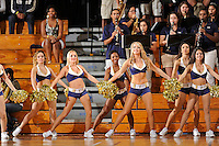 21 January 2012:  FIU's Golden Dazzlers fire up the crowd during a break in the action in the first half as the Florida Atlantic University Owls defeated the FIU Golden Panthers, 50-49, at the U.S. Century Bank Arena in Miami, Florida.