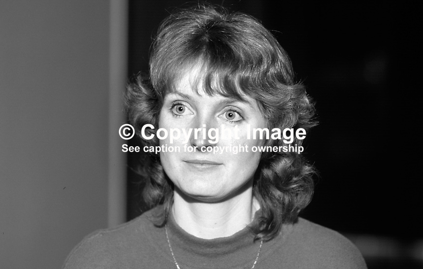 Harriet Harman, MP, Labour Party, UK, 19870937HH.<br />