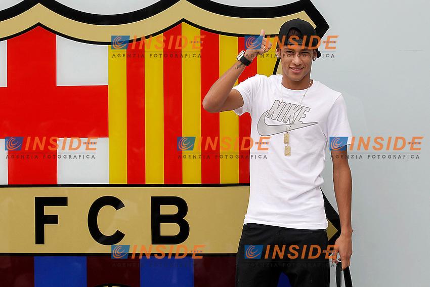 Neymar Da Silva <br /> Barcellona 3/6/2013 <br /> Football Calcio 2013/2014 La Liga Spagna<br /> Presentazione<br /> Foto Alterphotos / Insidefoto <br /> ITALY ONLY