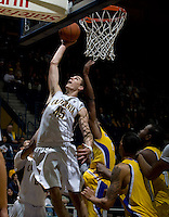 David Kravish of California shoots the ball during the game against CSUB at Haas Pavilion in Berkeley, California on November 11th, 2012.  California defeated CSUB, 78-65.