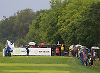 Matthew Fitzpatrick (ENG) on the 5th tee during Round 3 of the D+D Real Czech Masters at the Albatross Golf Resort, Prague, Czech Rep. 02/09/2017<br /> Picture: Golffile | Thos Caffrey<br /> <br /> <br /> All photo usage must carry mandatory copyright credit     (&copy; Golffile | Thos Caffrey)