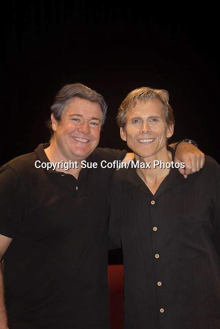 "Guiding Light's Michael O'Leary author of ""Breathing Under Dirt"" - full play stars with Grant Aleksander - had its world premier on August 13 and 14, 2016 at the Ella Fitzgerald Performing Arts Center, University of Maryland Eastern Shore, Princess Anne, Maryland  (Photo by Sue Coflin/Max Photos)"