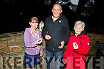 Sharon Roche, Ger Collins and Philomena Duggan the Annual candlelight vigil for the Worldwide Suicide Prevention Day in Pearse Park on Tuesday night, to remember those lost to suicide.