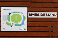General view of the Riverside Stand signage ahead of Glamorgan vs Essex Eagles, Royal London One-Day Cup Cricket at the SSE SWALEC Stadium on 7th May 2017