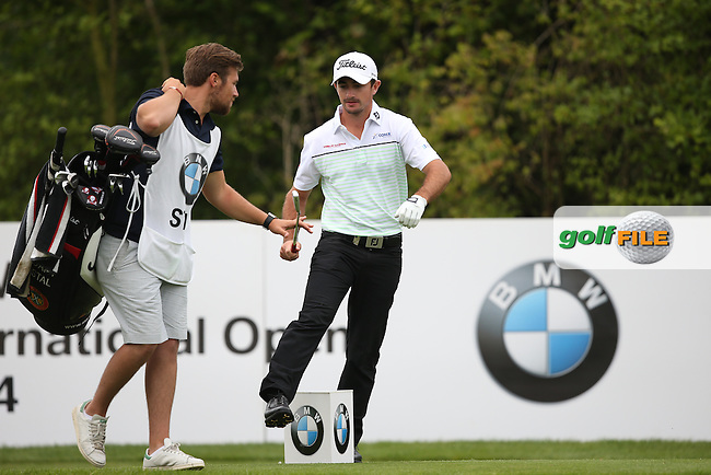 Gary Stal (FRA) carded a 69 during Round Two of the BMW International Open 2014 from Golf Club Gut Lärchenhof, Pulheim, Köln, Germany. Picture:  David Lloyd / www.golffile.ie