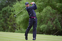 Adam Hadwin (CAN) watches his tee shot on 14 during round 3 of the Valero Texas Open, AT&amp;T Oaks Course, TPC San Antonio, San Antonio, Texas, USA. 4/22/2017.<br /> Picture: Golffile | Ken Murray<br /> <br /> <br /> All photo usage must carry mandatory copyright credit (&copy; Golffile | Ken Murray)