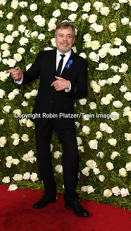 Mark Hamill  attends the 71st Annual  Tony Awards on June 11, 2017 at Radio City Music Hall in New York, New York, USA.<br /> <br /> photo by Robin Platzer/Twin Images<br />  <br /> phone number 212-935-0770