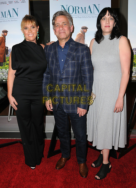05 April 2017 - Los Angeles, California - Miranda Bailey, Eyal Rimmon, Amanda Marshall.  Los Angeles Premiere of  &quot;Norman: The Moderate Rise and Tragic Fall of a New York Fixer&quot; held at Linwood Theater at The Pickford Center for Motion Picture Study in Los Angeles. <br /> CAP/ADM/BT<br /> &copy;BT/ADM/Capital Pictures