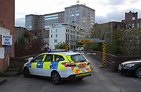 2017 04 28 Attempted suicide in Swansea Railway Station, Wales, UK
