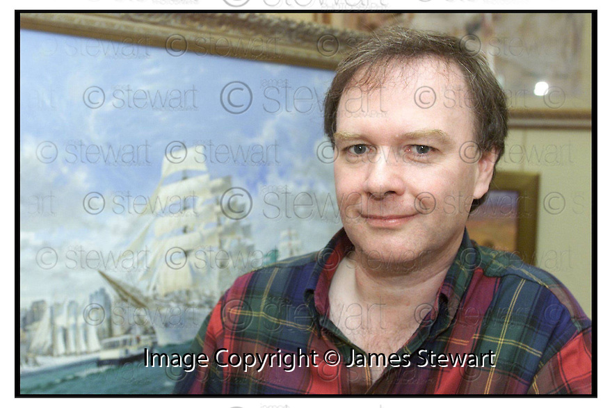 25th June 2000              Copyright Pic : James Stewart                      .File Name : stewart02-tall ship                        .BILLY DOBBIE, OFFICIAL ARTIST TO THE TALL SHIPS RACE IN AMERICA, WITH HIS TALL SHIP PAINTING WHICH HE HOPES TO SELL FOR £35,000......Payments to :-.James Stewart Photo Agency, Stewart House, Stewart Road, Falkirk. FK2 7AS      Vat Reg No. 607 6932 25.Office : 01324 630007        Mobile : 0421 416997.E-mail : jim@jspa.co.uk.           : jim@jamesstewart.co.uk.If you require further information then contact Jim Stewart on any of the numbers above.........